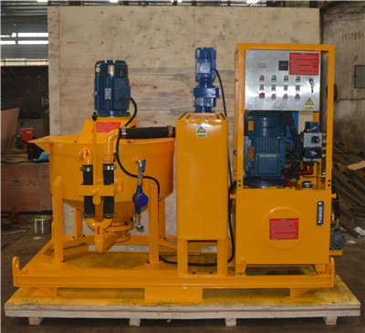 customized grouting equipment