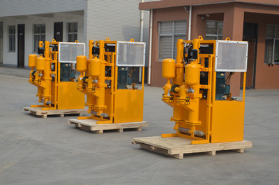 Grouting injection pump