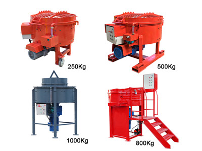 castable refractory mixer machine for sale