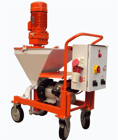 portable cement plastering machine