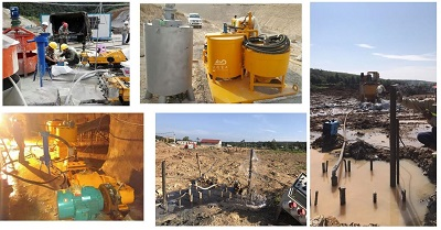 supplier of grout mixer and pump in China