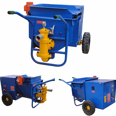 mortar spraying machine,