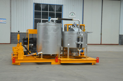 compaction grouting plant