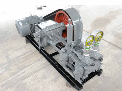 China double hydraulic grout pump