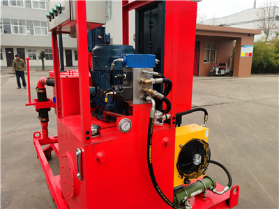 cement mixing grout pump plant