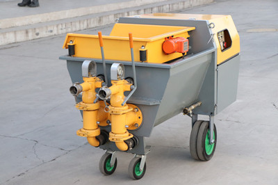 China mortar spraying pump for sale