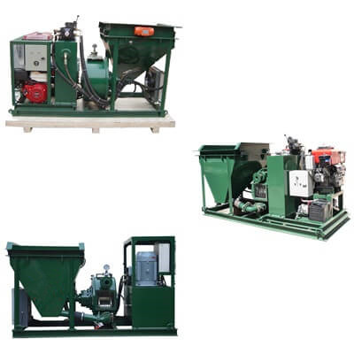 small type shotcrete machine