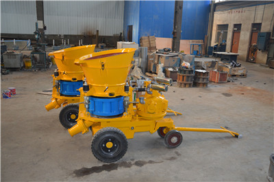 concrete spraying machine Myanmar