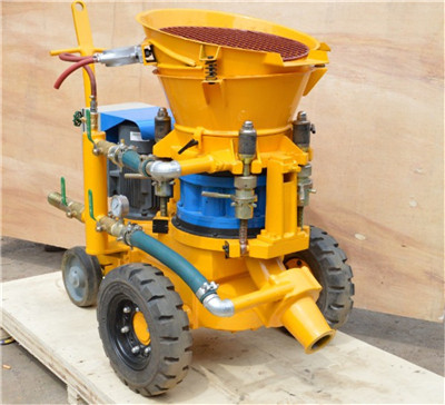 small concrete spraying machine