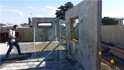 foam concrete machine for cast-in-situ wall