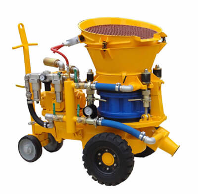 LZ-5 dry mix shotcrete machine