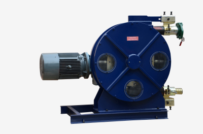 industrial hose squeeze pump