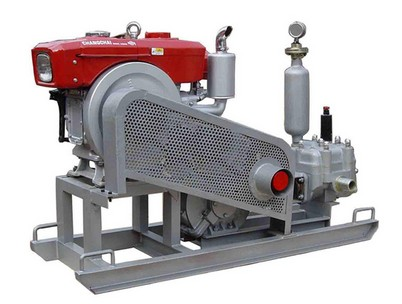 leadcrete grouting pump