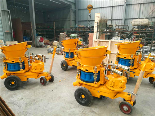 5 m3 per hour air dirven dry shotcrete machine