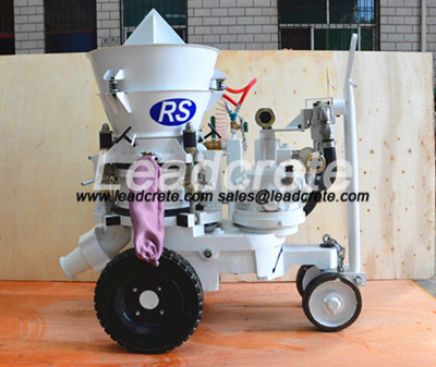 air motor drive refractory gunite machine