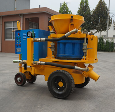 dry gunite machine for shotcrete pool