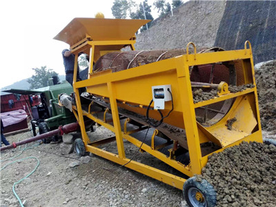 soil sieveing machine
