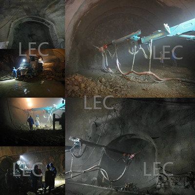 shotcrete arm application