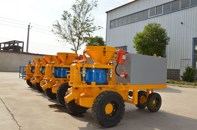 concrete shotcrete machine suppliers