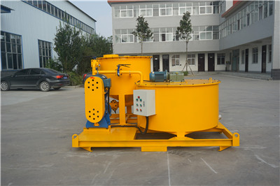 colloidal mixer for grout