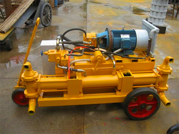 Double piston mortar pump made in China