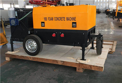 fly ash lightweight foam concrete making machine
