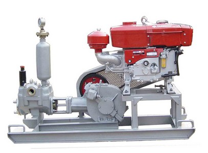 performance of grouting pump