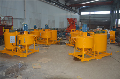 colloidal grout mixer manufacturers