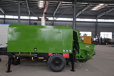 soil spraying slope protection machine