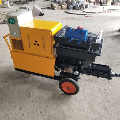 mortar spraying machine for housing projects