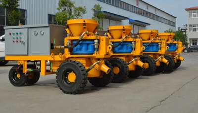 wet shotcrete machine for shotcrete pool