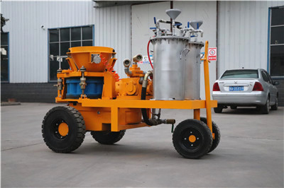 Air Motor Shocrete Machine