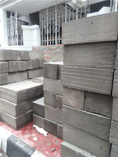 cellular lightweight foam concrete block