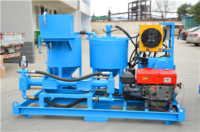 grout machine foundation grouting