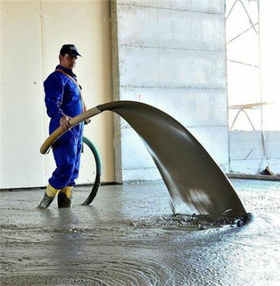 foam concrete machine for floor heating