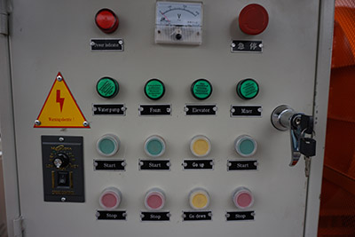 control cabinet of concrete machine