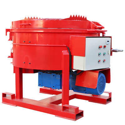 refractory pan mixer application in steel plant