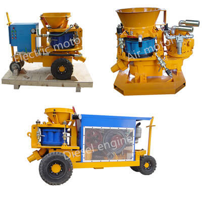small shotcrete machine