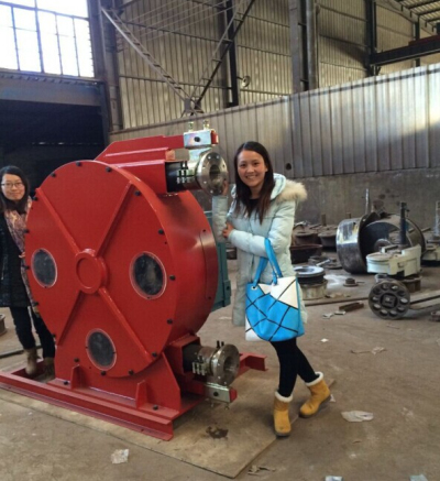 China industrial hose squeeze pump
