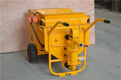 Mortar pump for sale to Colombia