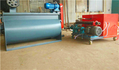 LD10 foam cement machine to warm the floor