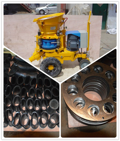 shotcrete machine and spare part to Singapore