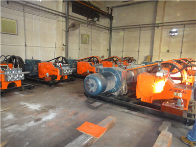 high pressure grout pump factory