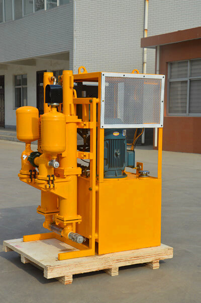 grouting pump for cement