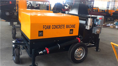 foam concrete device