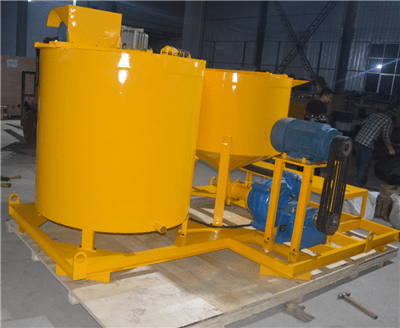colloidal grout mixer