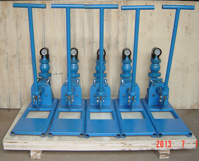 hand operated grout pump