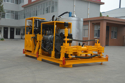 Compaction grouting equipment