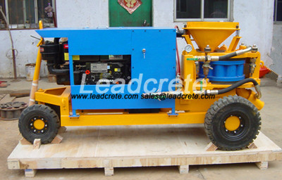 diesel wet gunite machine