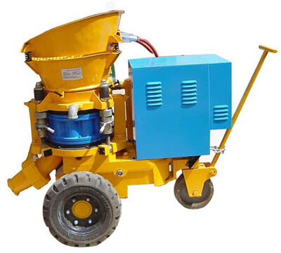 LZ-3 dry mix shocrete machine